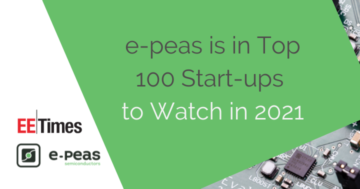 e-peas is in Top 100 Start-ups to Watch in 2021